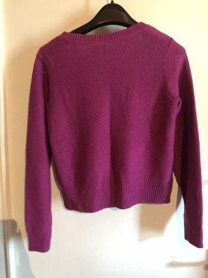 8 Pullover a maglia grossa lilla