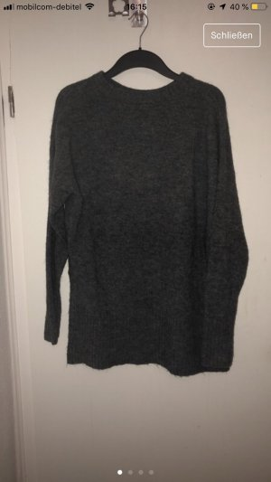 H&M Pull long gris anthracite
