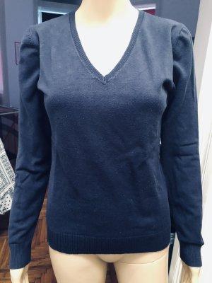 17&co V-Neck Sweater dark blue