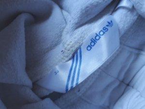 Adidas Jersey con capucha blanco-color plata