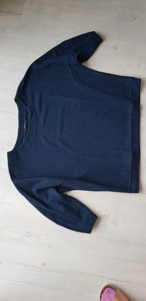 Opus Oversized Sweater dark blue