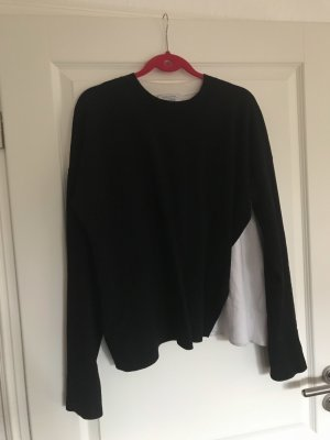 & other stories Long Sweater black-white