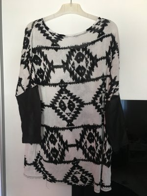 Sweater zwart-wit