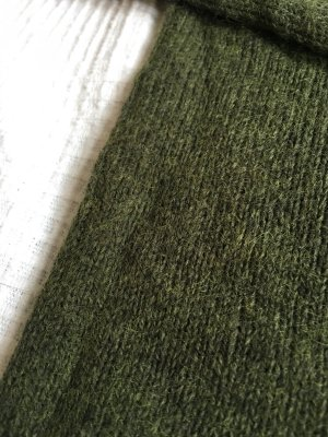 H&M L.O.G.G. Gebreide trui groen-grijs