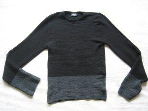 pulli H&M schwarz grau gr. s/m 36