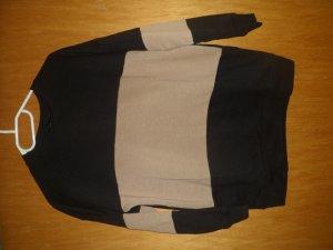 Pulli in schwarz braun