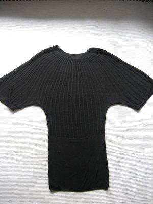 pulli minikleid H&M topzustand schwarz gr. xs 34 tunika