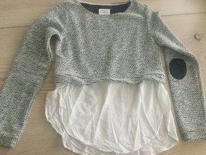 Pulli mit angetäuschtem Hemdeinsatz Gr. 164 oder XS / S von Reserved