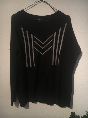 Ann Christine Sweater black-light grey