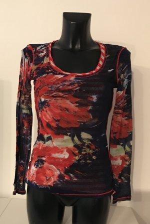 Pulli mit floralem Muster/Blumenprint Shirt