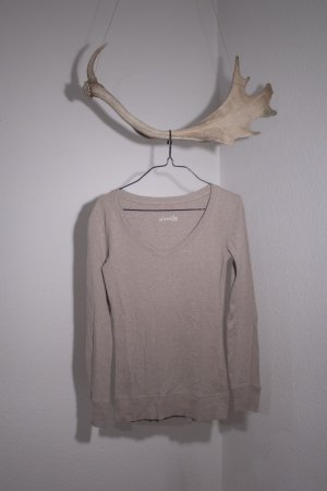 Pimkie V-Neck Sweater beige