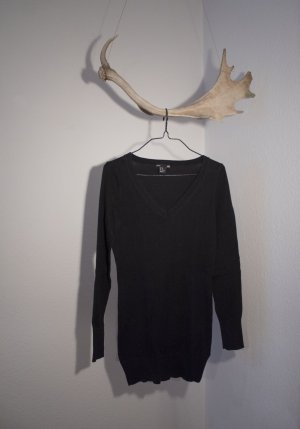 H&M V-Neck Sweater black