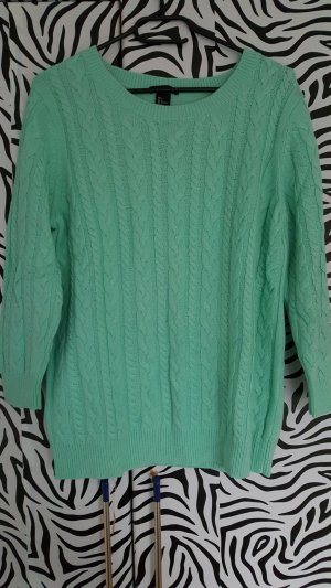 H&M Cable Sweater mint