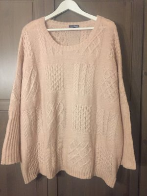 Charles Vögele Cable Sweater pink