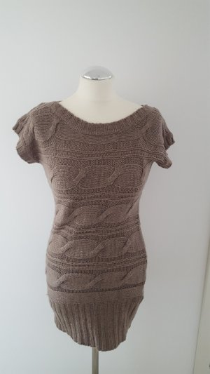 Cable Sweater taupe-grey brown