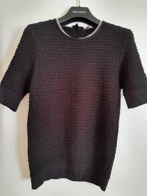 Carven Cropped Top black cotton