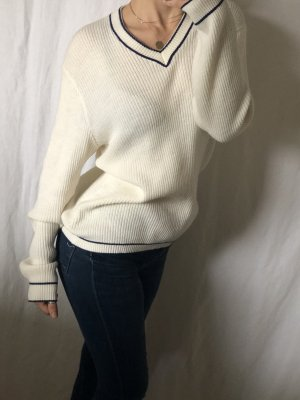 Pulli Pullover Blogger Creme weis
