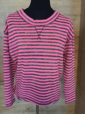 Pulli Pullover Gr S Vero Moda gestreift pink grau