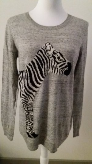 Pulli Pullover mit Zebra