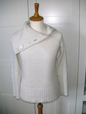 Pulli, Pullover, Strickpullover, beige, nude, creme, Only, Gr. S