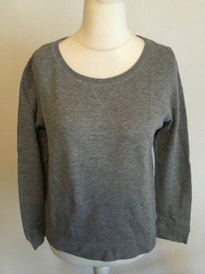 Pulli Pullover Sweater locker basic grau Gr. M