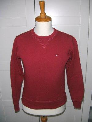 Pulli, Pullover, Sweatshirt, rot, Tommy Hilfiger, Gr. XS
