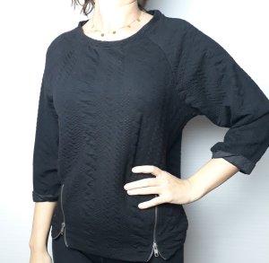 pulli schwarz Pullover Gr. M 38 Damen