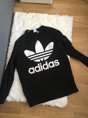Adidas Sweatshirt noir-blanc