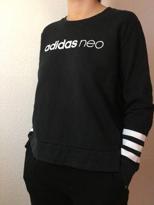 Adidas NEO Pull long noir-blanc