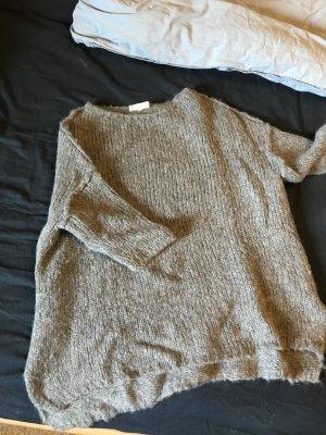 American Vintage Grof gebreide trui veelkleurig