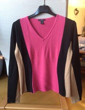 Pulli von apart pink, schwarz, beige