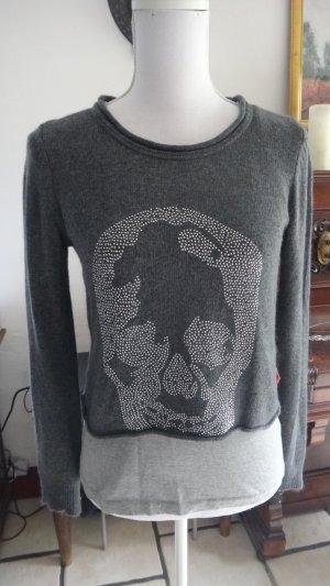 Le Temps des Cerises Sweater Twin Set multicolored angora wool