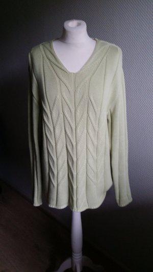 Olsen Collection Jersey largo verde claro Algodón