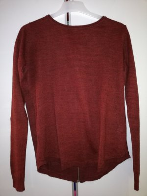 Vero Moda Knitted Jumper dark red