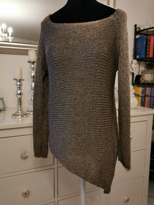 Coarse Knitted Sweater bronze-colored-gold-colored