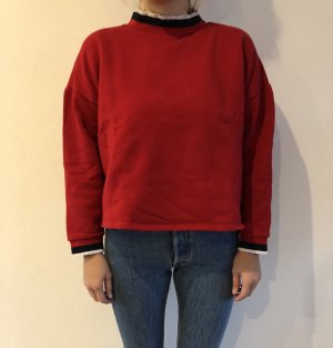 Zara Jersey holgados rojo