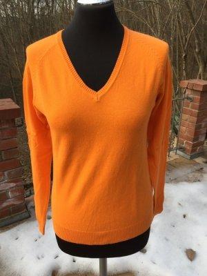 Pulli von Zara in orange
