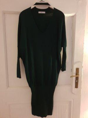 Zara Knit Sweaterjurk donkergroen