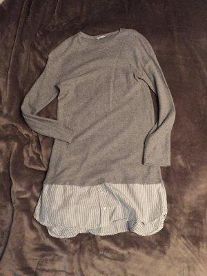 Zara Trafaluc Vestido tipo jersey multicolor