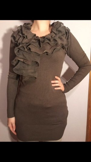Italia Moda Sweater Dress taupe-light brown
