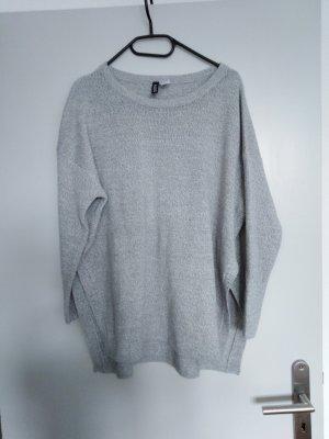 H&M Jersey Twin-Set gris claro