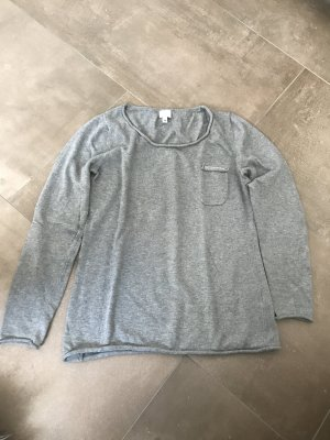 Alba Moda Crewneck Sweater grey