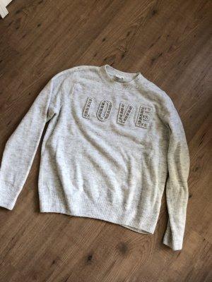 H&M Oversized Sweater light grey