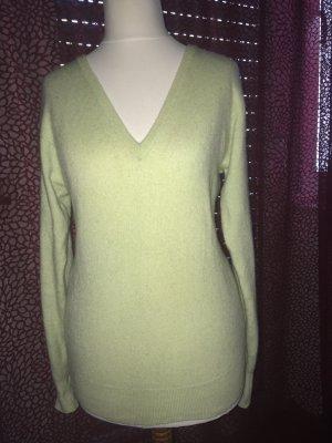 Pullover 100% Kaschmir hellgrün Gr. S