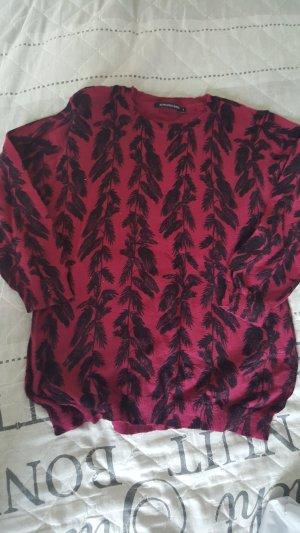 Jersey de manga corta púrpura