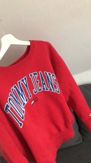Tommy Jeans Pull long rouge