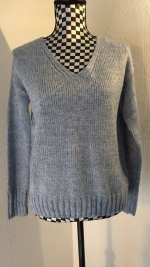 Takko V-Neck Sweater azure