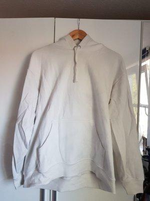 H&M Jersey con capucha blanco