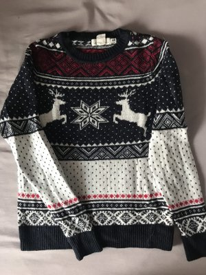 H&M Christmasjumper multicolored