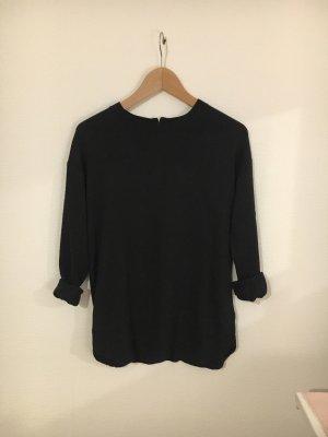 H&M Maglione lungo nero